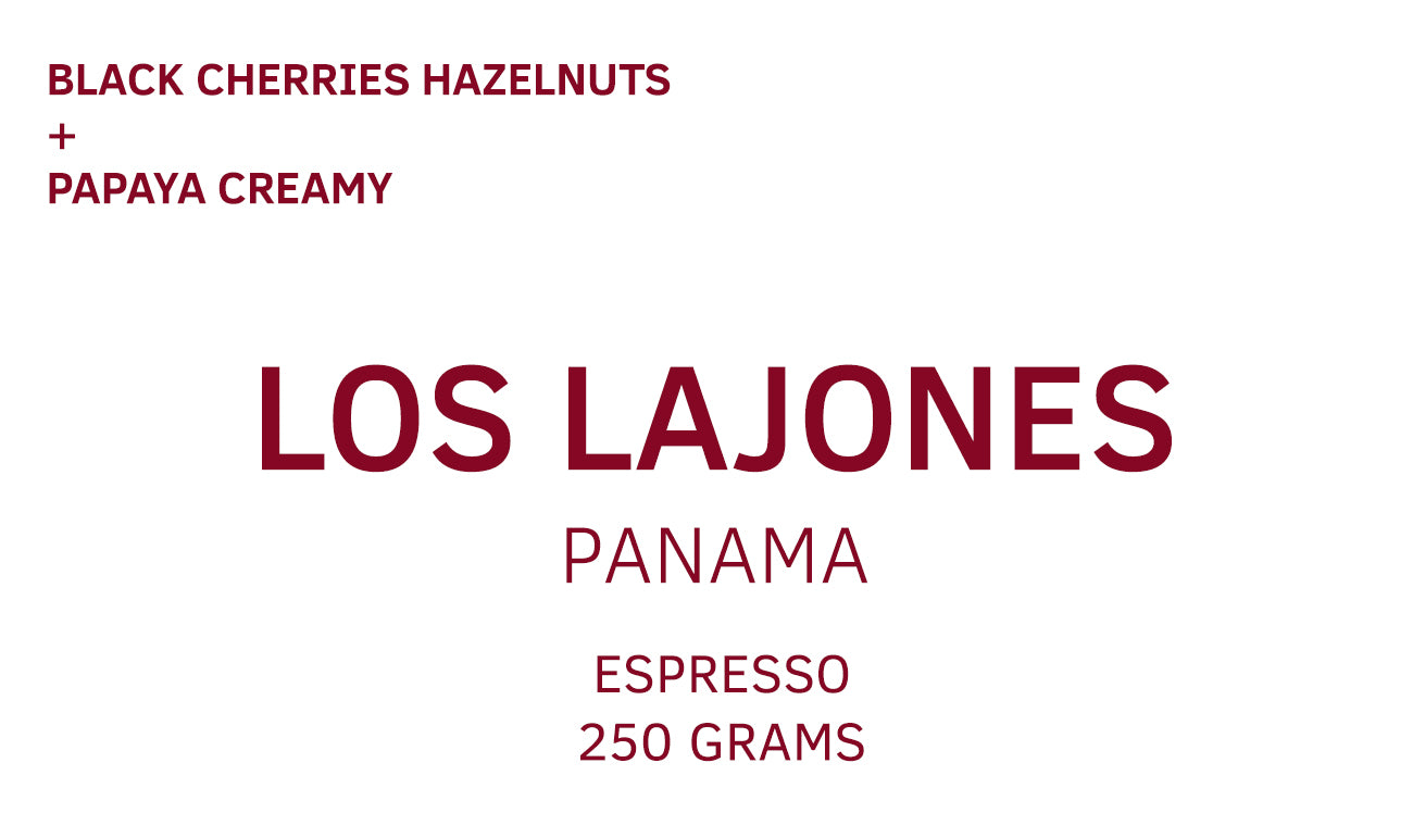 Los Lajones, Creativa Coffee District, Panama, Espresso