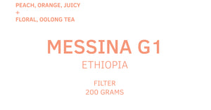 Messina, Ethiopia, Filter, 200g