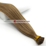 16-20Inches 100s Keratin Stick I Tip Human Hair Extensions Straight Dark Honey Blonde(#16) - VANLINKE HUMAN HAIR EXTENSIONS