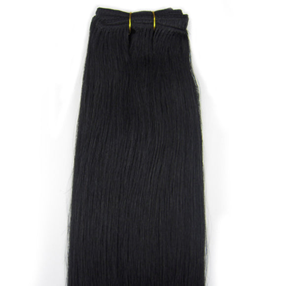 Customize 20inch 100g Human Hair Extensions Weft Silky Straight