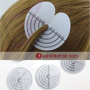 Single Hole Spacer Template for Fusion Human Hair and Feather Extensions and I Tip - VANLINKE HUMAN HAIR EXTENSIONS