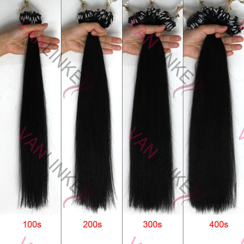 16 26inches 100s easy loopmicro ring beads tip remy human hair 16 26inches 100s easy loopmicro ring beads tip remy human hair extensions straight pmusecretfo Choice Image