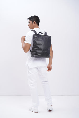 Backpack simple - Leather