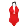 HEMERA - Black & Red Reversible - UBU Swimwear