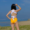 CLARA - Blue, Yellow & White - UBU Swimwear