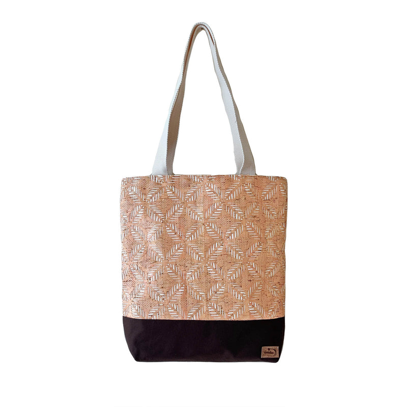 Nature Lover's Cork Tote (Brown) - UBU Swimwear