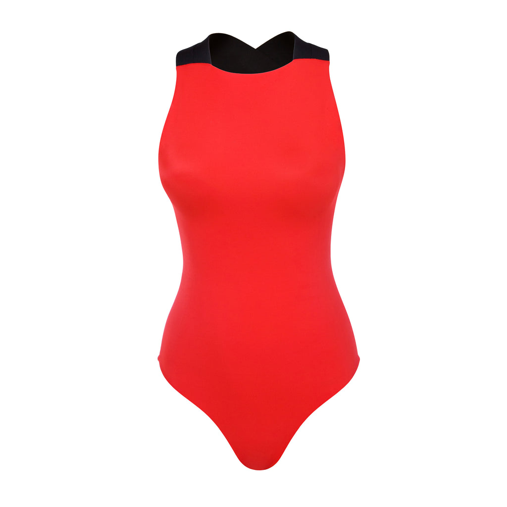 CERES - Black & Red - UBU Swimwear