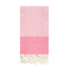 TANJONG - Peach Striped Turkish Towel (Terry)