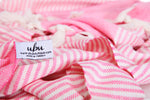 LOVINA - Pink Turkish Towel - UBU Swimwear
