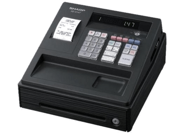 Sharp Electronic Cash Register XEA147BK Black - Easypos Point of Sale Systems
