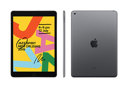 "Apple iPad 10.2"" WiFi 32GB Space Grey 7th Gen"