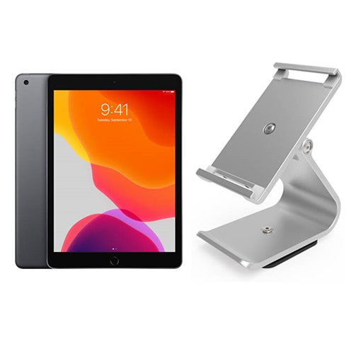 "Apple iPad 10.2"" WiFi 32GB + VPOS Full Tilt Stand - EasyPOS"
