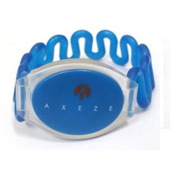 AXEZE RFID Blue Curly Wristband 134.2KHz Tag - Easypos Point of Sale Systems