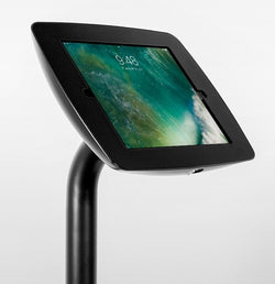 BOSS-TAB The Fusion Floor Stand 90° Rotate - Freestanding Base Tablet Enclosure Floor Stand
