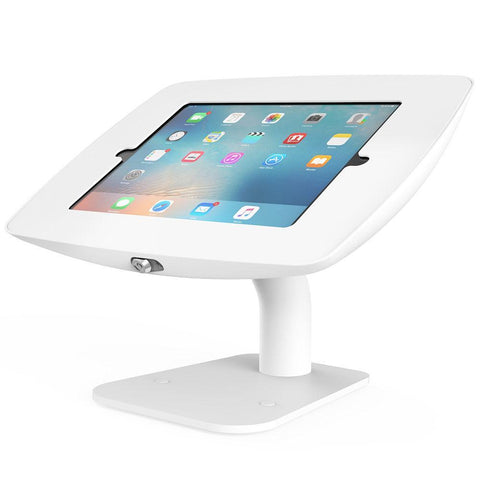 BOSS-TAB iPad 9.7 Stand Rotate Free Standing White - Easypos Point of Sale Systems