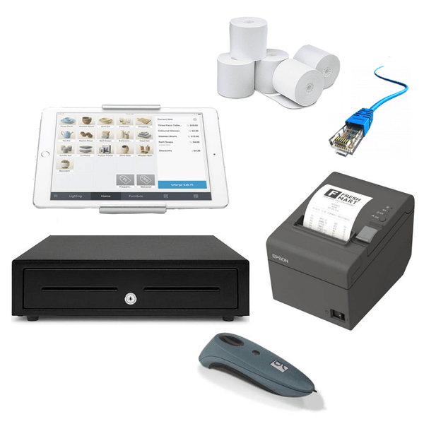 Square POS Hardware - iPad Compatible Bundle #4 - Easypos Point of Sale Systems