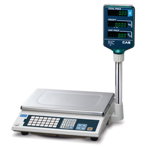 CAS AP1 15Kg Price Computing Scale with Pole Display
