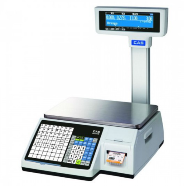 CAS CL-5200 Label Printing Scale with Pole 15Kg - Easypos Point of Sale Systems