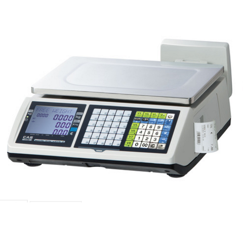 CAS CT100 Receipt Printing Weighing Scale - EasyPOS