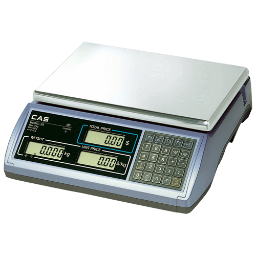 CAS ER30 Scale /w Backlit LCD - Easypos Point of Sale Systems