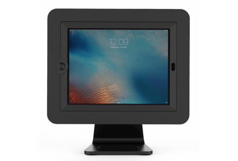 Compulocks Secure Executive Enclosure With 360 Degree Kiosk Stand For iPad 9.7in - Black