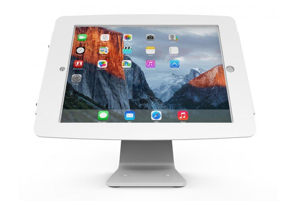 Compulocks Secure Space Enclosure with 360 Degree Kiosk Stand for iPad 9.7 White - Easypos Point of Sale Systems