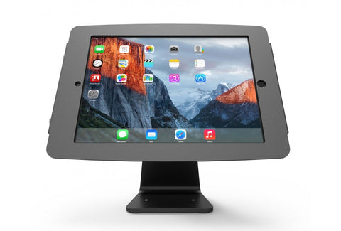 Compulocks Secure Space Enclosure with 360 Degree Kiosk Stand for iPad 9.7 Black - EasyPOS