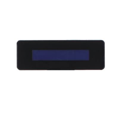 FEC Integrated 2 Line Customer Display Black AERPOS/AERPPC/PP1635