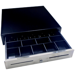 GOODSON GC-54 9C/5N Black Drawer 24V - Easypos Point of Sale Systems
