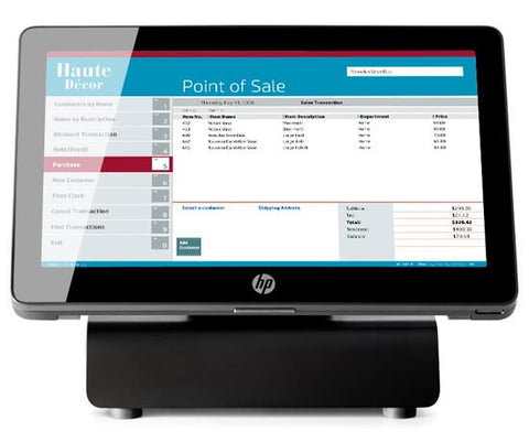 HP RP2 J1900 4GB 128GB SSD 14R POSReady 7 - Easypos Point of Sale Systems