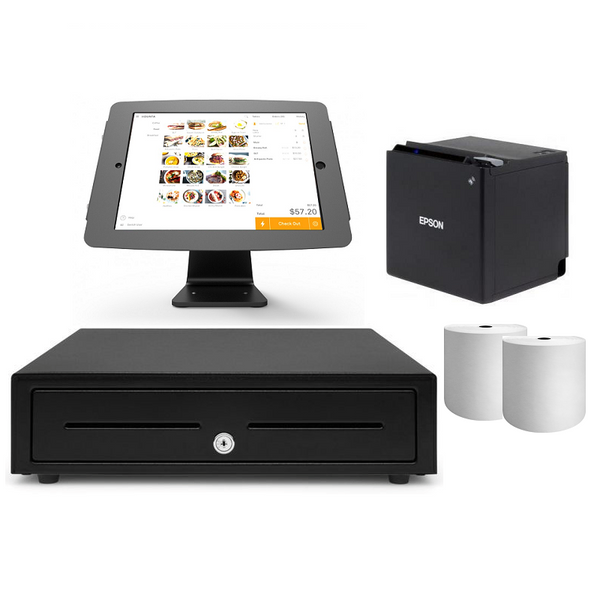 Kounta Bluetooth POS Hardware with iPad Compulocks Secure Stand Bundle #20 - EasyPOS