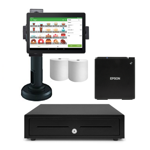 Loyverse Bluetooth POS Hardware with Android Tablet Bundle #9 - EasyPOS