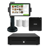 Loyverse Bluetooth POS Hardware with Samsung Galaxy Tablet Bundle #1 - Easypos Point of Sale Systems