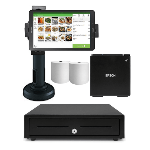Loyverse Bluetooth POS Hardware with Samsung Galaxy Tablet Bundle #1 - EasyPOS