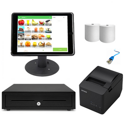 "Loyverse POS Hardware with the Kensington iPad 9.7"" Enclosure & Stand Bundle #13 - EasyPOS"