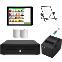 "Loyverse POS System with the Apple iPad 9.7"" Bundle #15"