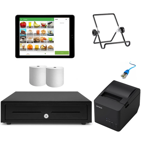 "Loyverse POS System with the Apple iPad 9.7"" Bundle #15 - EasyPOS"