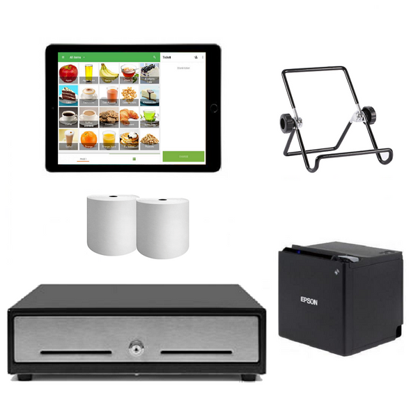 "Loyverse Bluetooth POS System with the Apple iPad 9.7"" Bundle #17 - Easypos Point of Sale Systems"