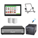 Loyverse Android POS Hardware with VPOS Ethernet Printer Bundle #21 - EasyPOS