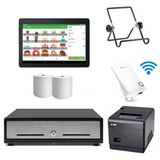 Loyverse POS Hardware with VPOS Printer & WiFi Extender Bundle #22 - Easypos Point of Sale Systems