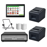 Loyverse Bluetooth Hospitality POS Hardware with two CP-V320M Bluetooth Printer Bundle #26