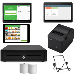 Loyverse Hospitality POS with Kitchen & Customer Display Bundle #8