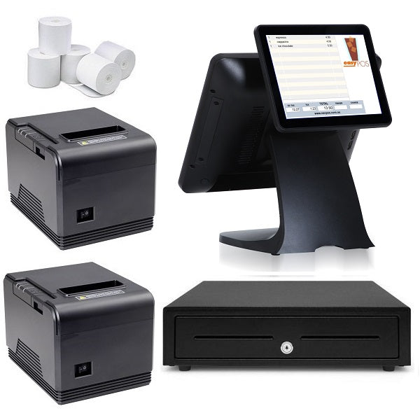 "NeoPOS Hospitality POS System with the T9 Touch POS Terminal & 9.7"" Customer LCD Display Bundle #N37"