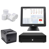 NeoPOS Retail and Hospitality Manager with the FEC PP1635 Touch POS Terminal Bundle #19 - EasyPOS