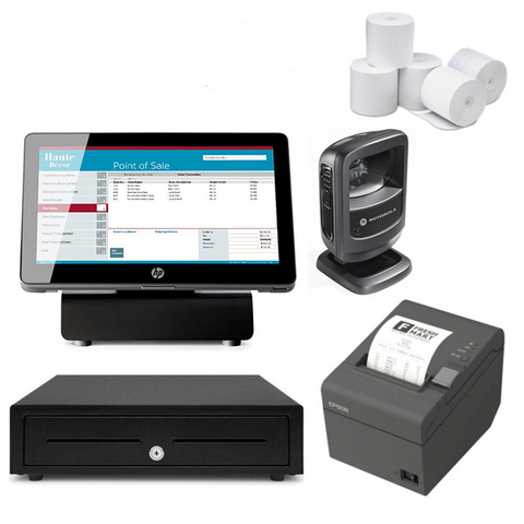 NeoPOS Retail and Hospitality Manager POS Hardware Bundle #8 - EasyPOS