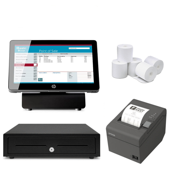 NeoPOS Retail and Hospitality Manager with HP RP2 J1900 Bundle #14 - Easypos Point of Sale Systems