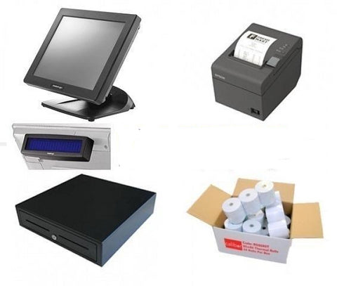 NeoPOS Retail and Hospitality Manager POS Hardware Bundle #9 - EasyPOS