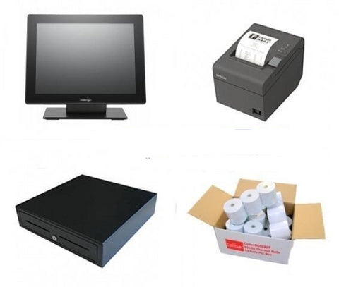 NeoPOS Retail and Hospitality Manager POS Hardware Bundle #11 - EasyPOS