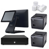 "NeoPOS Hospitality POS System with the SAM4S Touch POS Terminal & 9.7"" Customer LCD Display #24 - Easypos Point of Sale Systems"