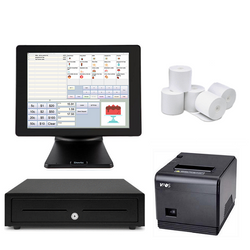 NeoPOS Retail and Hospitality Manager with the SAM4S Titan S360 Touch POS Terminal Bundle #21 - EasyPOS